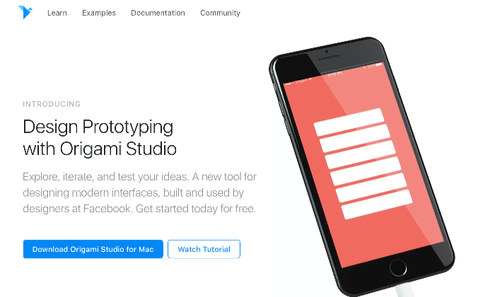 無料で使えるWebデザインツール Origami