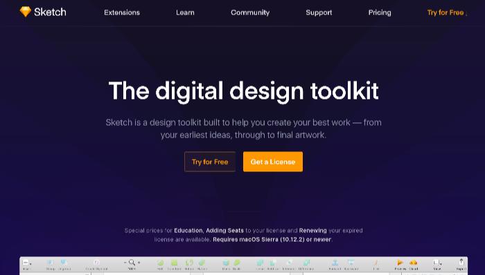 要注目な有料Webデザインツール Sketch