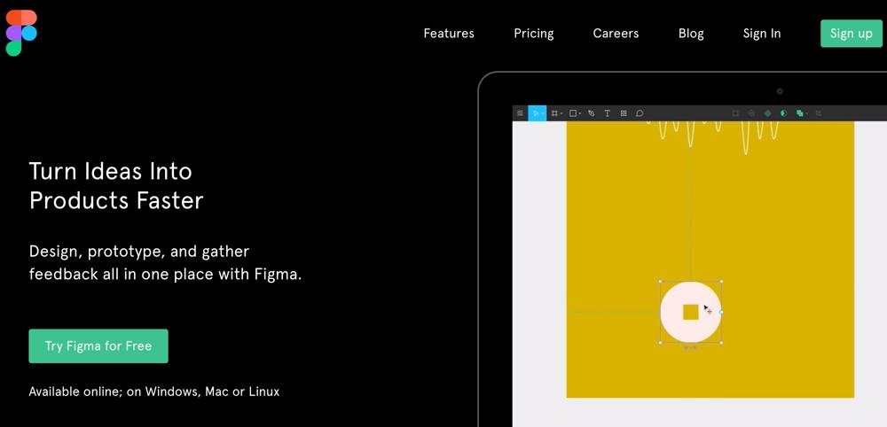無料で使えるWebデザインツール Figma