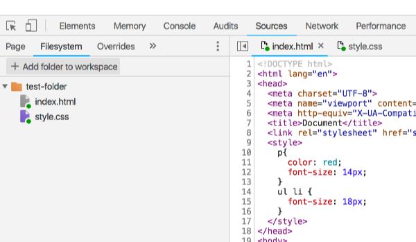 Devtoolsで編集した内容を保存できるようにする方法