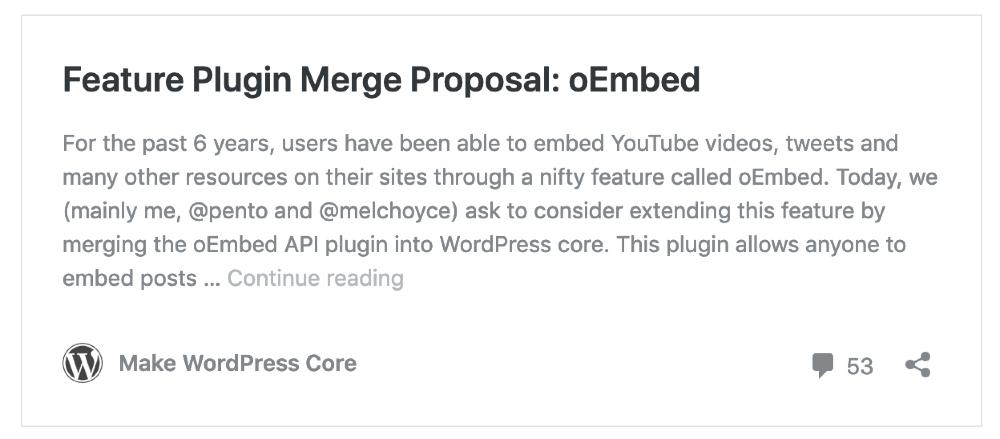 Wordpress5.0 デフォルトで使えるショートコード