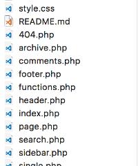 Wordpressのテンプレート構造って何?