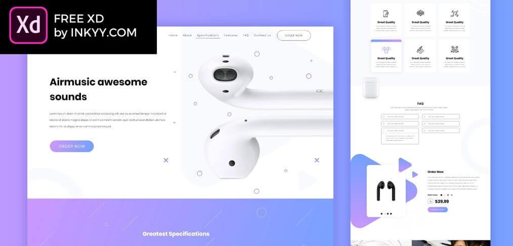 XDのUIkit Webデザイン3