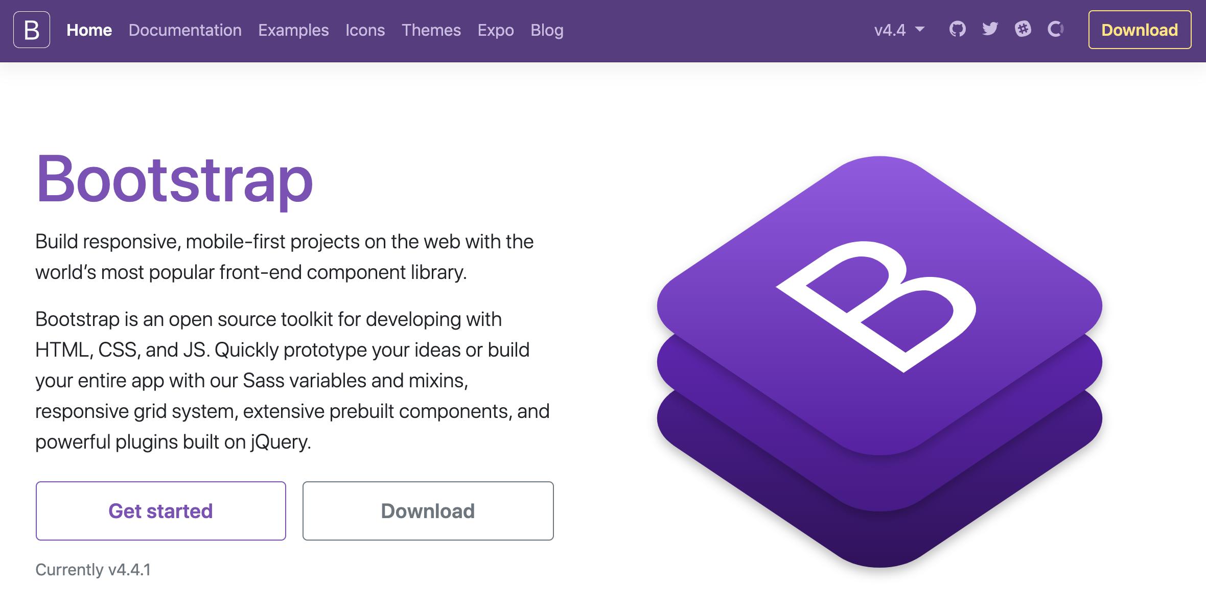 Bootstrap4を採用したレスポンシブレイアウト