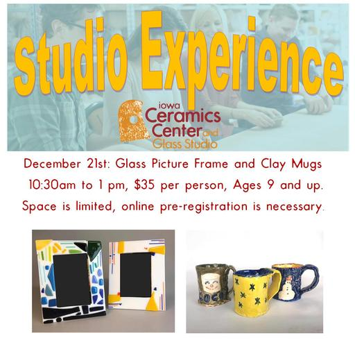 Studio Experience Workshop--Glass Picture Frame and Cocoa Mug