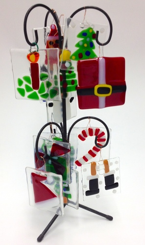 Family Workshops-- Glass Holiday Ornaments