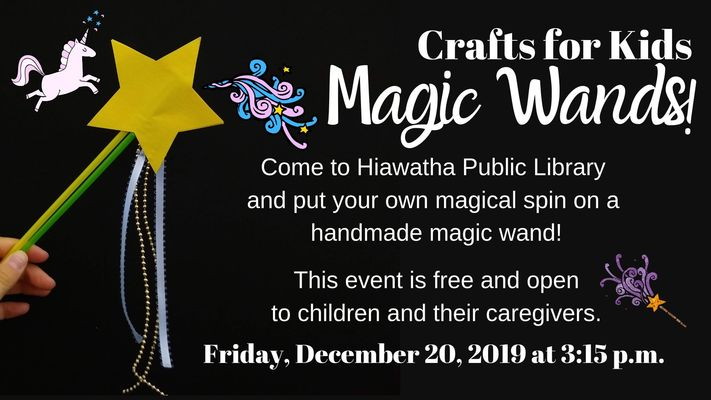Crafts for Kids: Magic Wands