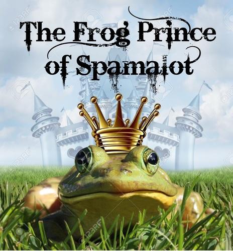 Frog Prince of Spamalot