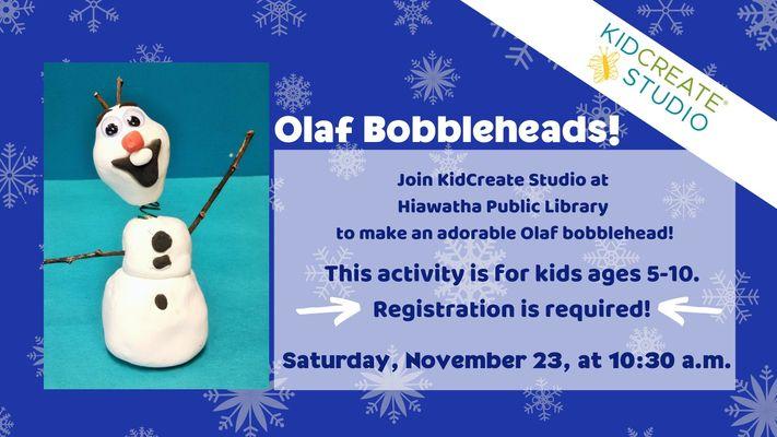 Olaf Bobbleheads