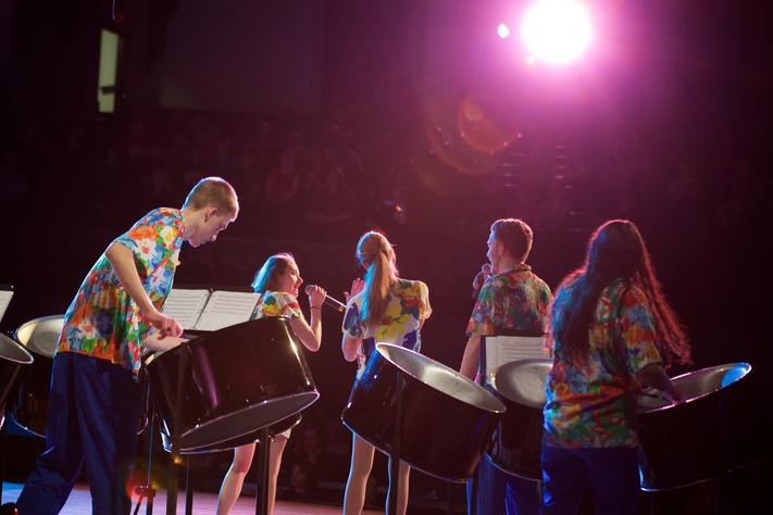 Steel Drum Ensemble Concert