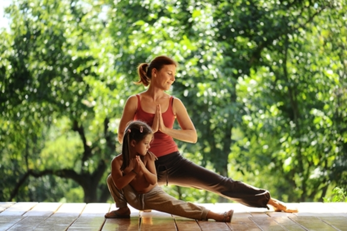 Family Yoga with Twisted Yoga