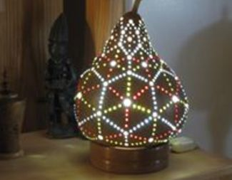 Search rick hugill gourd lamp beadology iowa