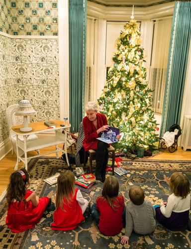 Santa, Snacks, and Stories (Sold out)