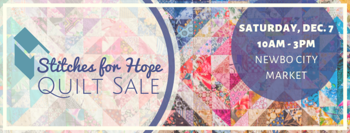 Stitches for Hope Quilt Sale