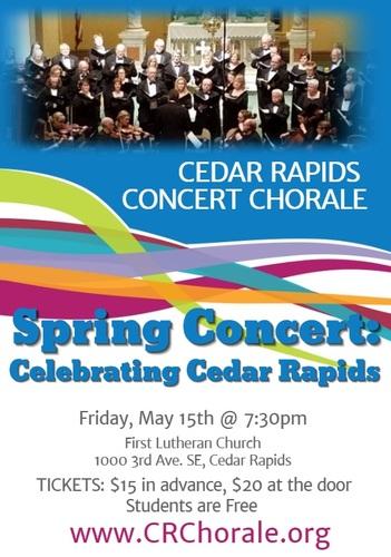 Choral Spring Concert: Celebrating Cedar Rapids