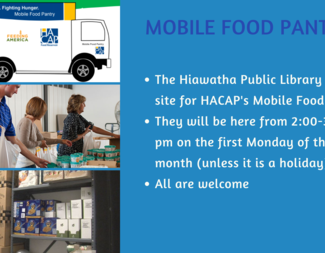 Search mobile food pantry