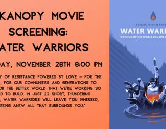 Search kanopy movie screening  water warriors