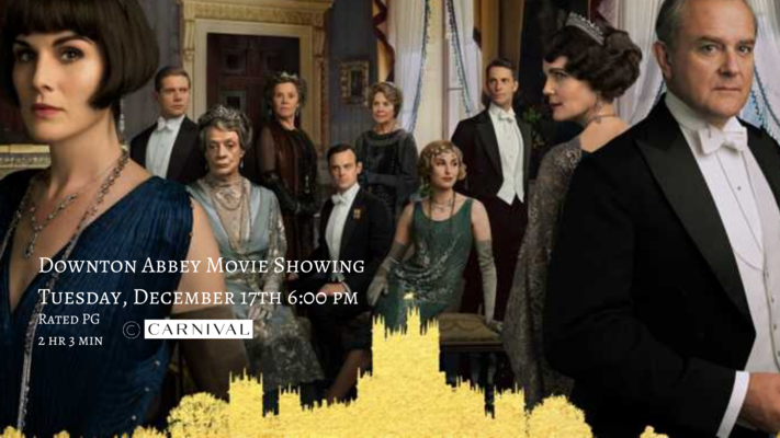 Downton Abbey Movie Showing