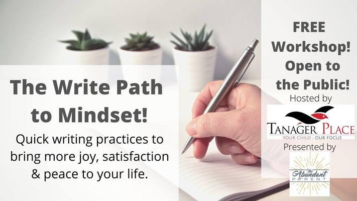 The Write Path to Mindset