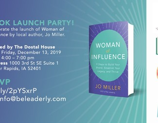 Search woman of influence book launch party invite   december 13   online version
