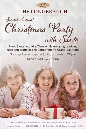 Longbranch Christmas Party with Santa