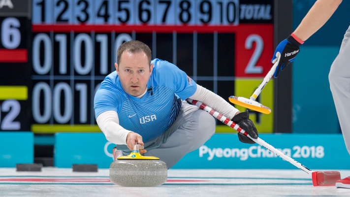 Dinner and curling with Olympic gold-medalist