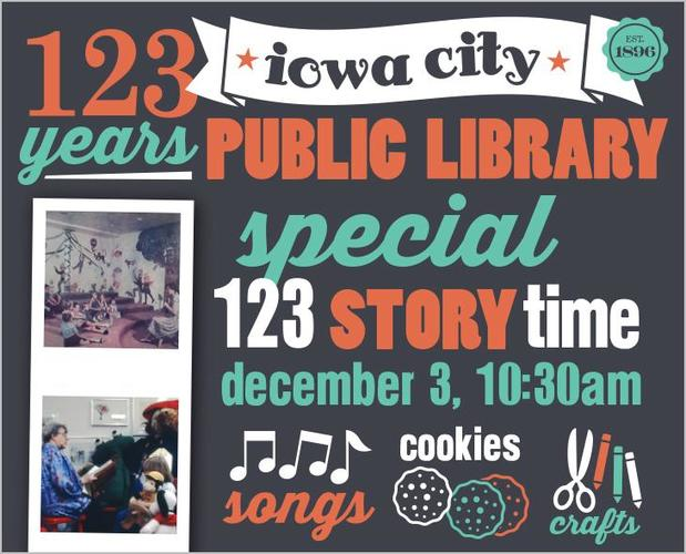 Celebrate 123 at Storytime