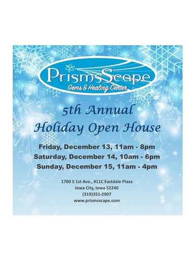 PrismsScape's Holiday Open House