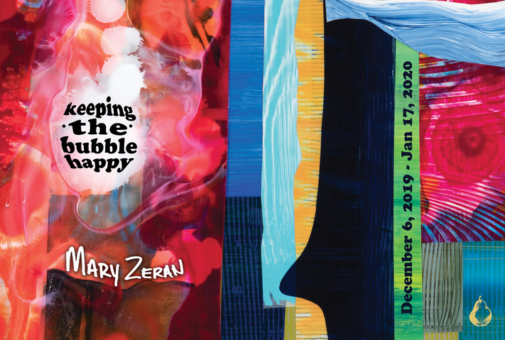 Opening reception with Mary Zeran: Keeping the Bubble Happy