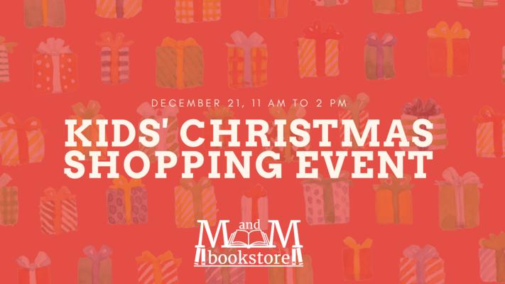 Kids' Christmas Shopping Event