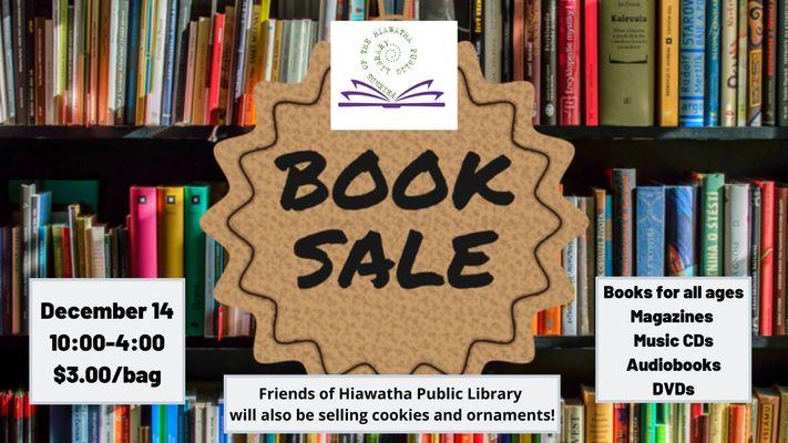 Friends of Hiawatha Public Library Book Sale