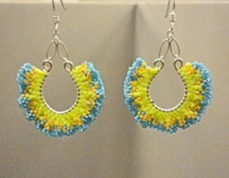 Search ruffles galore earrings brick stitch beadology iowa