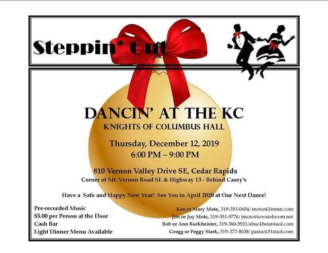 Steppin' Out for Christmas Dance - Ballroom and Latin Dancing