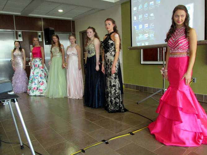Your Skin Is In:  Pre-prom event at Hall-Perrine Cancer Center