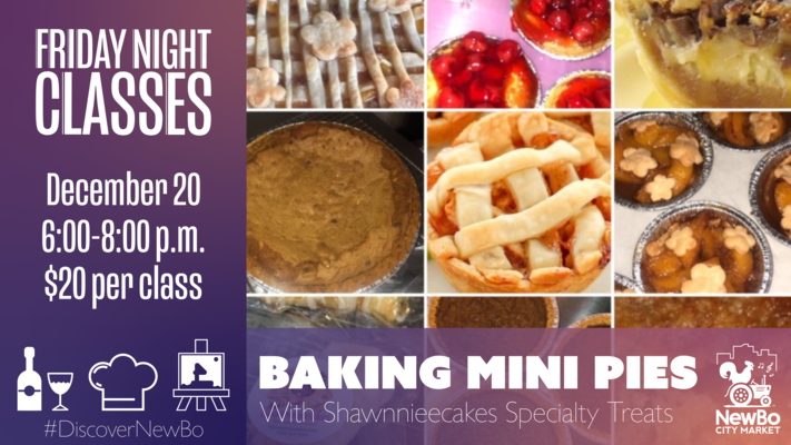 Baking Mini Pies class with NewBo's Shawnniecakes