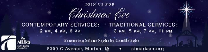 St. Mark's Christmas Eve Service