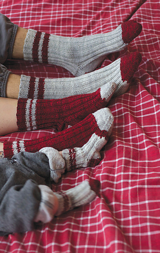 Let's Knit a Swedish Style Ragg Sock