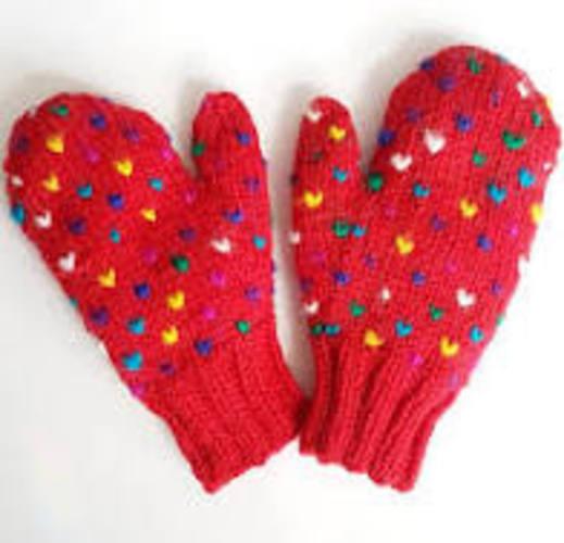 Let's Knit Thrummed Mittens