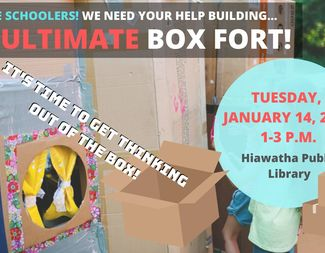 Search jan 14 the ultimate box fort