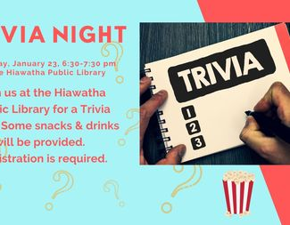 Search january 23 trivia night