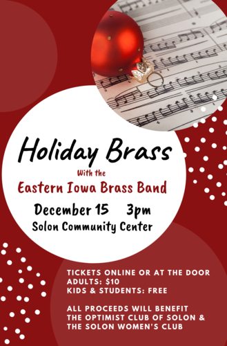 Holiday Brass with the Eastern Iowa Brass Band