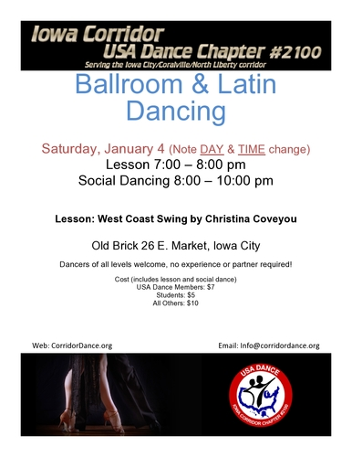 Ballroom and Latin Dancing at Old Brick