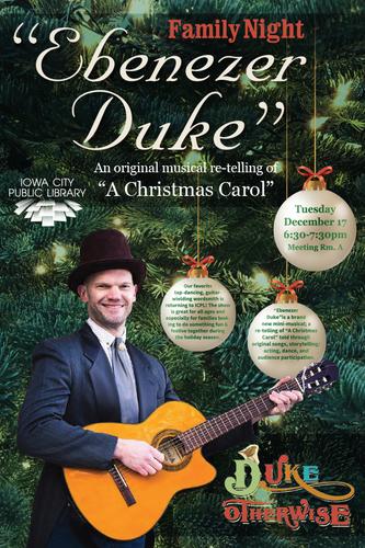 """Family Night: """"Ebenezer Duke"""" with Duke Otherwise"""
