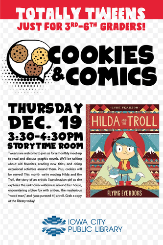 Totally Tweens: Comics & Cookies: Hilda and the Troll
