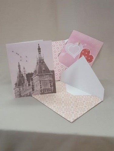 Handmade Beaded Card and Envelope