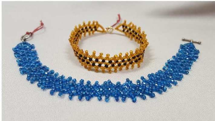 Roaring Twenties Beaded Bracelet