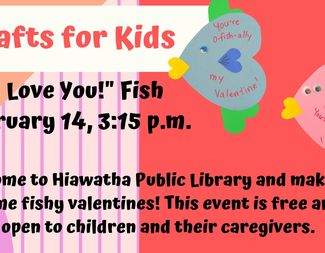 Search feb 14   crafts for kids   i love you fish