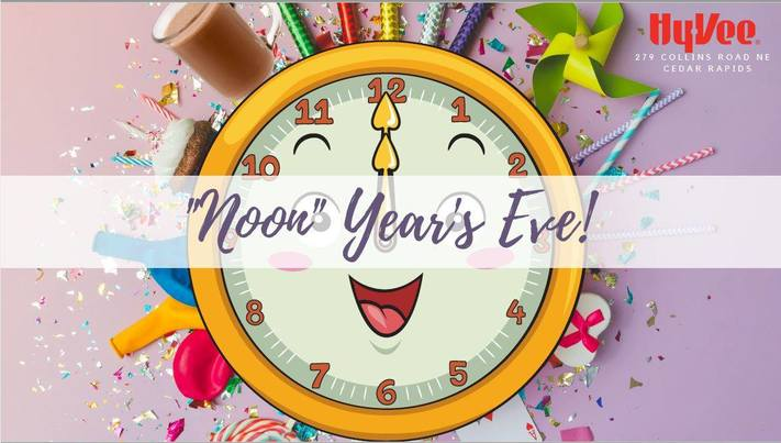 """Kids """"Noon"""" Years Eve Party!"""