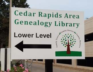 Volunteer work day - Genealogical Society of Linn County, Iowa