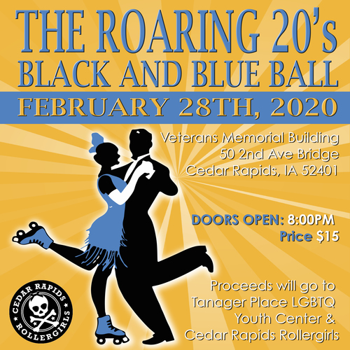 2nd Annual Black and Blue Ball: The Roaring 20's